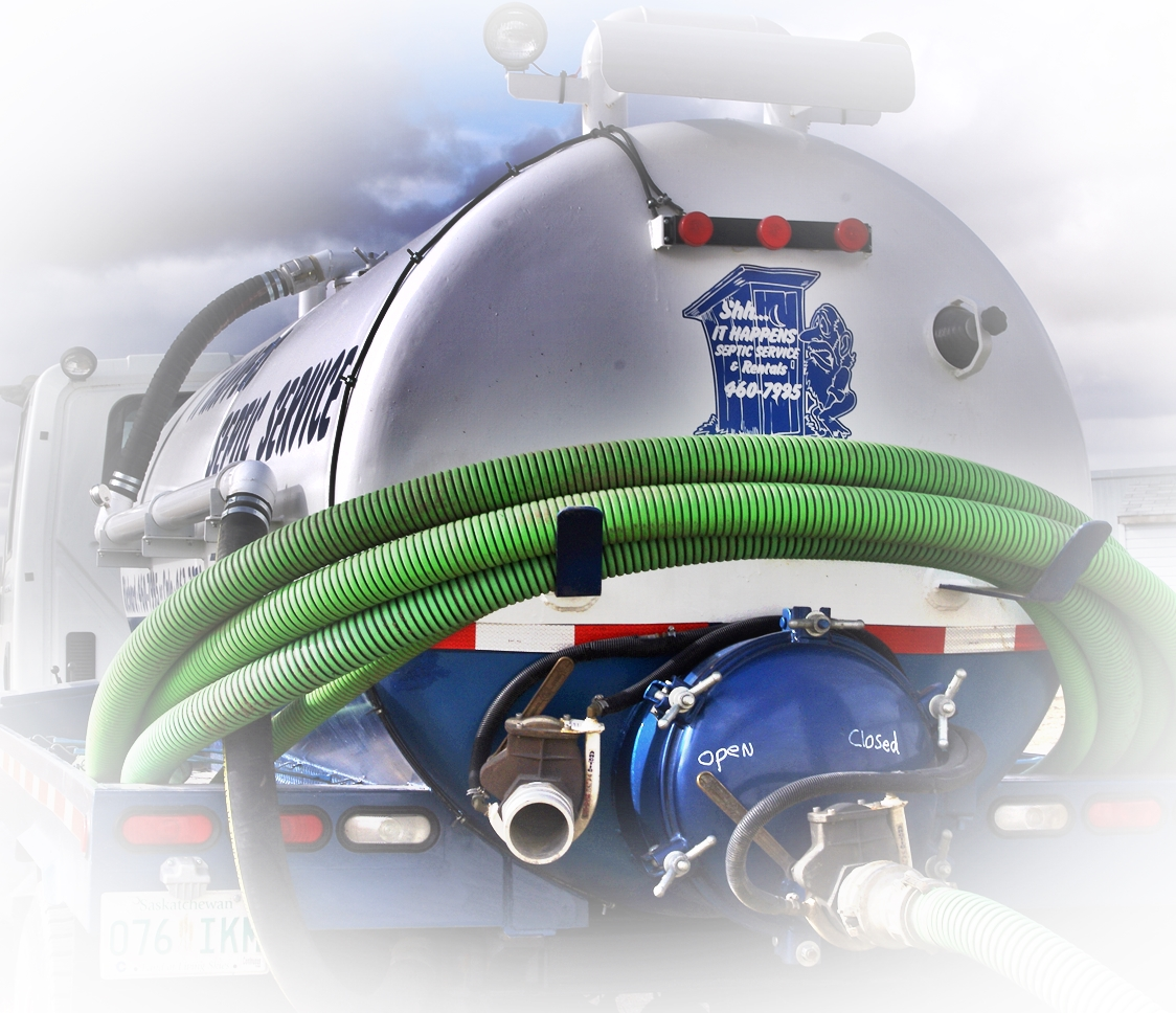 It Happens Septic-Vac Truck